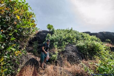 Cabo de Rama Mogroach Indien