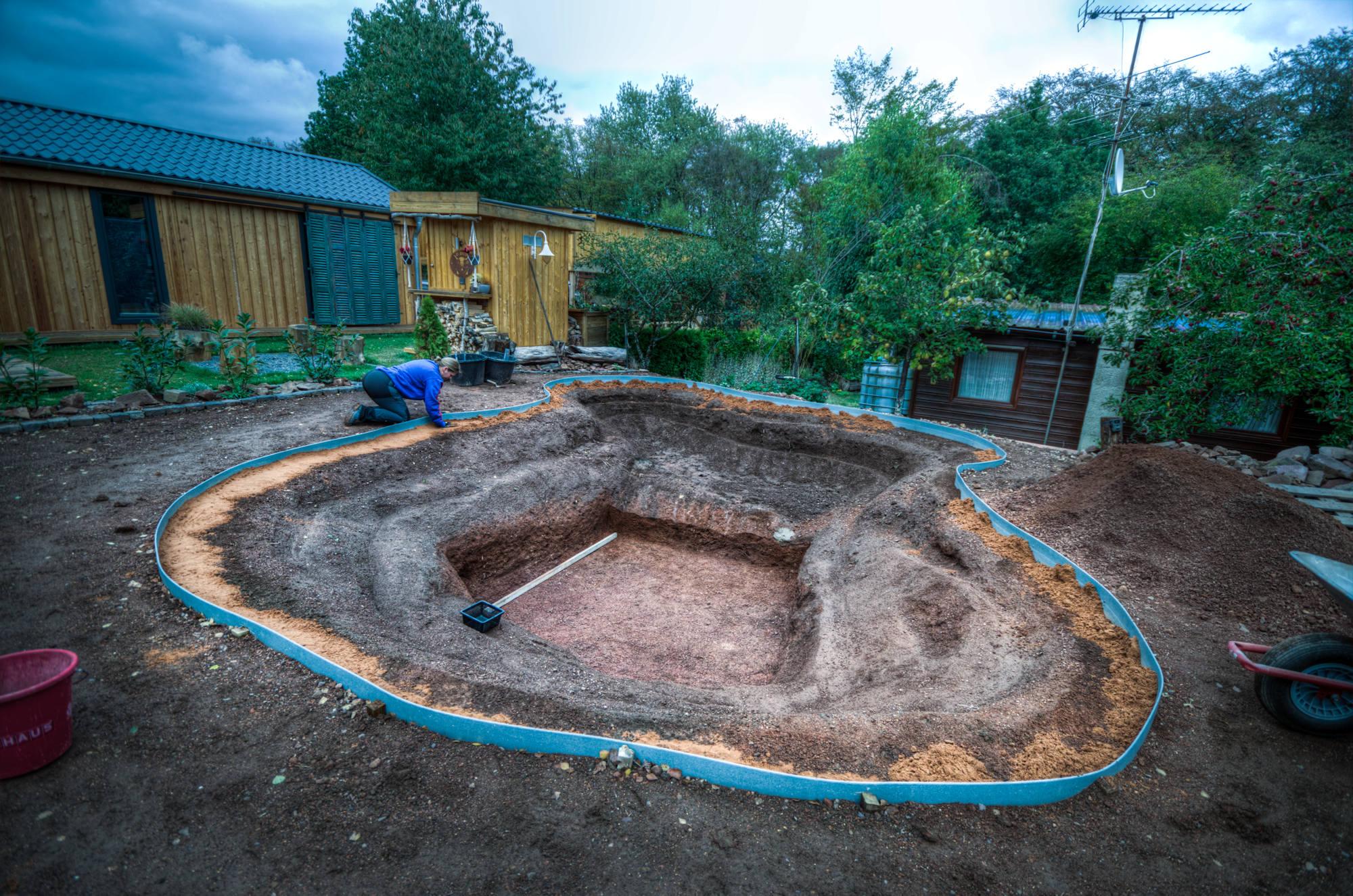 Tiny Haus Minhaus Mogroach Travelblog Teich Teichflies Schwimmteich Litermont Tiny Haus